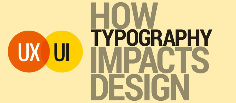 The importance of typography on mobile app designing