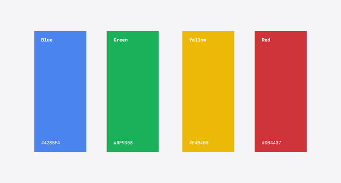 The definitive Google kit for designers and developers
